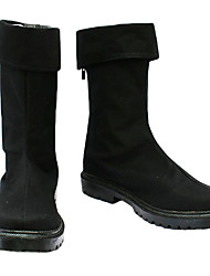 cheap -Cosplay Boots One Piece Roronoa Zoro Anime Cosplay Shoes PU Leather Men's Halloween Costumes