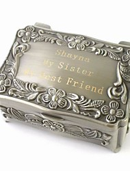 cheap -Box Jewelry Boxes - Personalized, Glam, Vintage, DIY Silver 9 cm 6 cm 4 cm / Wedding / Anniversary / Gift / Valentine