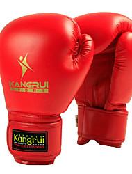 Недорогие -Кожаные боксерские перчатки, без размера, различные цвет, 285 гр