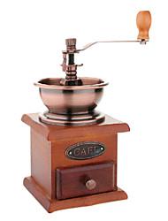 Недорогие -деревянная кофемолка специи винтажный стиль ручной мясорубки