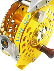 cheap -Fishing Reel Fly Reel 1:1 Gear Ratio+1 Ball Bearings Fly Fishing