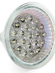 cheap -1pc 1 W LED Spotlight 60-80 lm GU10 GU5.3(MR16) MR16 21 LED Beads Dip LED Warm White White 12 V