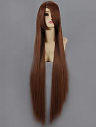 cheap -Naruto Mei Terumi Cosplay Wigs Women's 40 inch Heat Resistant Fiber Brown Anime