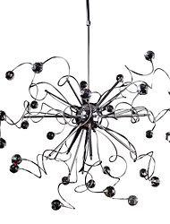 cheap -MAISHANG® Sputnik Pendant Lights Chrome Crystal, Mini Style 110-120V / 220-240V Bulb Included