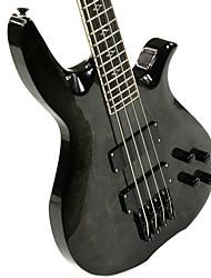 Недорогие -Derulo - (гром огня) полноценный липы электрической бас-гитаре с сумкой концерт / ремень / выборы / кабеля