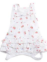 cheap -Dog Dress Dog Clothes Costume Cotton XS S M L
