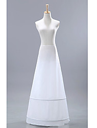 cheap -Wedding / Special Occasion / Party / Evening Slips Nylon / Tulle Floor-length A-Line Slip / Classic & Timeless with