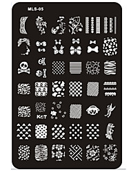cheap -nail art stamp stamping image template plate mls series