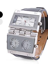 cheap -Men's Military Watch Quartz Steampunk Analog White Black