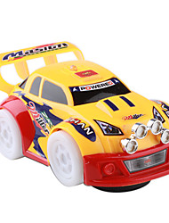 cheap -Battery Powered Auto-Run Flashing Wheels Racing Car Toy (3xAA)