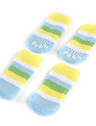 cheap -Socks & Boots for Dogs Blue Spring/Fall Cotton