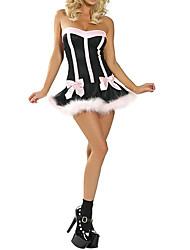 Недорогие -Черный и Розовый Пол Женский Kitten Halloween Costume (шт)