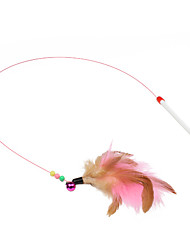 cheap -Teaser Feather Toy Cat Cat Toy Pet Toy Stick Plastic Gift