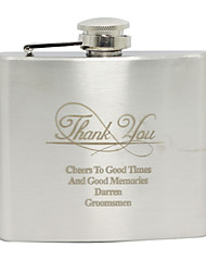 cheap -Stainless Steel Hip Flasks Groom / Groomsman Wedding / Birthday / Thank You