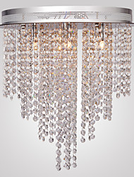 cheap -1-Light MAISHANG® 40 cm (16 inch) Crystal / Mini Style Flush Mount Lights Metal Glass Electroplated Modern Contemporary 110-120V / 220-240V / G4