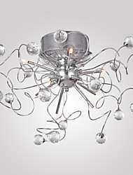 cheap -MAISHANG® Chandeliers / Flush Mount Lights Ambient Light Chrome Electroplated Metal Crystal 110V / 110-120V / 220-240V