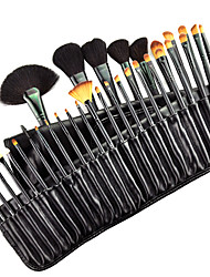 cheap -Professional Makeup Brushes Makeup Brush Set 32pcs Goat Hair / Pony / Synthetic Hair Blush Brushes for / Horse / Goat Hair Brush / Artificial Fibre Brush / Pony Brush