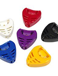 Недорогие -Алиса - (a010b) в форме сердца пластиковый выбирает holder/6-pack (случайный цвет)