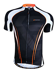 cheap -Nuckily Men's Short Sleeve Cycling Jersey Bike Top Mountain Bike MTB Road Bike Cycling Breathable Quick Dry Sports Clothing Apparel / Advanced / Advanced