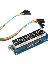 cheap -8 x Seven-Segment Displays Module for (For Arduino) (595 Driver)
