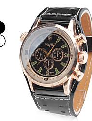 Недорогие -Муж. Наручные часы Авиационные часы Японский Кварцевый Черный / Белый Аналоговый Кулоны Классика - Белый Черный