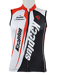 cheap -Kooplus Men's Sleeveless Cycling Jersey Red Blue Patchwork Bike Vest / Gilet Jersey Top Mountain Bike MTB Road Bike Cycling Breathable Quick Dry Sports Clothing Apparel