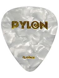 Недорогие -PYLON - (PP-B) Celluloid стандартной формы Guitar Picks/1-Dozen