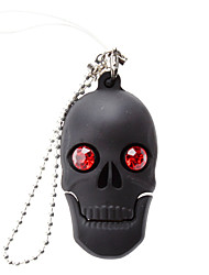 cheap -16GB usb flash drive usb disk USB 2.0 Plastic Skull Compact Size