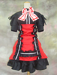 cheap -Cosplay Costume Inspired by Macross Series Sheryl Nome Red and Black Dress
