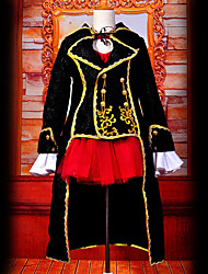 cheap -Inspired by Vocaloid Meiko Video Game Cosplay Costumes Cosplay Suits Patchwork Top Costumes