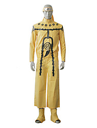 cheap -Inspired by Naruto Naruto Uzumaki Anime Cosplay Costumes Japanese Cosplay Suits Long Sleeve Bandage / Top / Pants For Men's