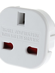 cheap -EU Plug to Multiple Plug Universal Round Travel Adapter with Safety Shutter (110-240V)