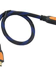 cheap -HDMI 1.3 HDMI 1.3 Male - Male 0.5m(1.5Ft)