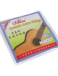 cheap -Alice - (A303-SL) Stainless Steel Acoustic Guitar Strings (011-052)