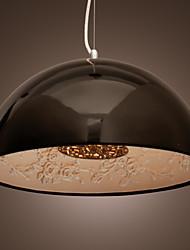 cheap -SL® Bowl Pendant Light Downlight Painted Finishes Metal Mini Style 110-120V / 220-240V / Chain / Cord Adjustable / E26 / E27