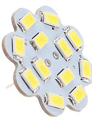 cheap -1.5 W LED Ceiling Lights 6000 lm G4 12 LED Beads SMD 5630 Natural White 12 V / #