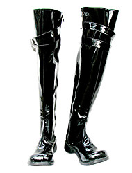 cheap -Cosplay Boots Katekyo Hitman Reborn! Mukuro Rokudo Anime Cosplay Shoes PU Leather Men's 855