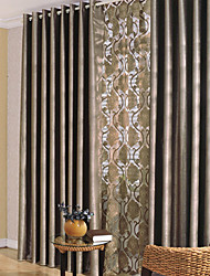 "cheap -Custom Made Blackout Blackout Curtains Drapes Two Panels 2*(39W×70""L) Gold / Bedroom"