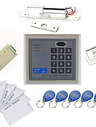 cheap -Stand Alone Access Controller Kits(Electric Bolt,10 EM-ID Card,Power Supply)
