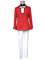 preiswerte -Inspiriert von Yu-Gi-Oh Judai Yuki Anime Cosplay Kostüme Japanisch Cosplay Kostüme Solide Langarm Mantel Hosen T-shirt Für Herrn
