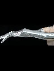 お買い得  -グローブ 肌着 忍者 成人 スパンデックス ラテックス コスプレ衣装 性別 男性用 女性用 ソリッド ハロウィーン / 高弾性