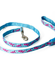cheap -Dog Leash Genuine Leather Red Blue
