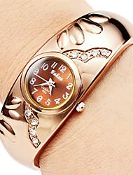 cheap -Women's Fashion Watch Bracelet Watch Quartz Elegant Imitation Diamond Analog Gold