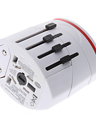cheap -International Travel Adapter With 2 USB Charger High quality, durable for US, EU, UK, AU 160 Countries