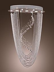 cheap -MAISHANG® 3-Light 25 cm Crystal Flush Mount Lights Chrome Modern Contemporary 110-120V / 220-240V / GU10