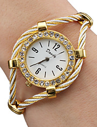cheap -Women's Ladies Fashion Watch Bracelet Watch Diamond Watch Quartz Sparkle Analog Gold / One Year / One Year / SSUO 377