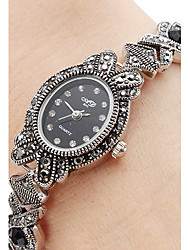 cheap -Women's Bracelet Watch Quartz Ladies Casual Watch Analog Silver / One Year / Japanese / Japanese / One Year / SSUO SR626SW