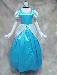 cheap -Princess Cosplay Costume Women's Vacation Dress Halloween Carnival Festival / Holiday Satin Women's Easy Carnival Costumes