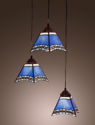 cheap -40W Antique Inspired Pendant Light with 3 Lights