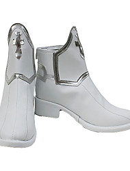 cheap -Cosplay Shoes SAO Swords Art Online Asuna Yuuki Anime Cosplay Shoes PU Leather Women's 855